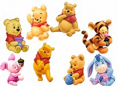 Winnie the Pooh and Friends as Babies