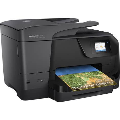 hp officejet pro 8710 all in one inkjet printer m9l66a b1h b h