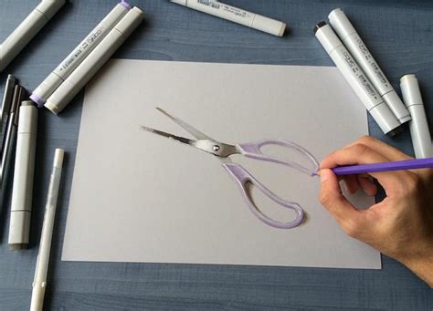 artist creates  drawings   incredibly real