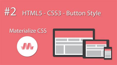 material design button effect css html5 css3 material design materialize css 2