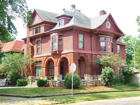 auto house terre haute in romanesque revival in terre haute indiana oldhouses com