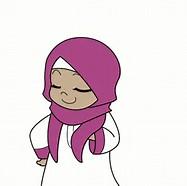 19 Gambar Kartun Islami Romantis Sedih Anak Lucu Bergerak