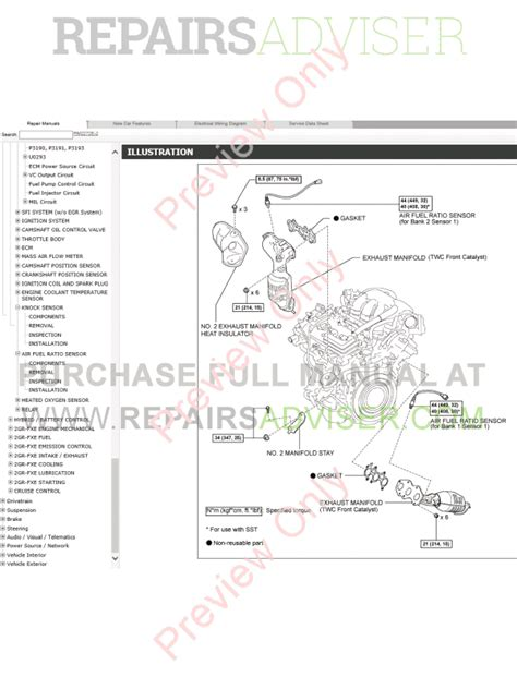 free online car repair manuals download 2012 lexus ls hybrid on board diagnostic system lexus rx450h gyl10 gyl15 repair manual 03 2012 09 2015 download