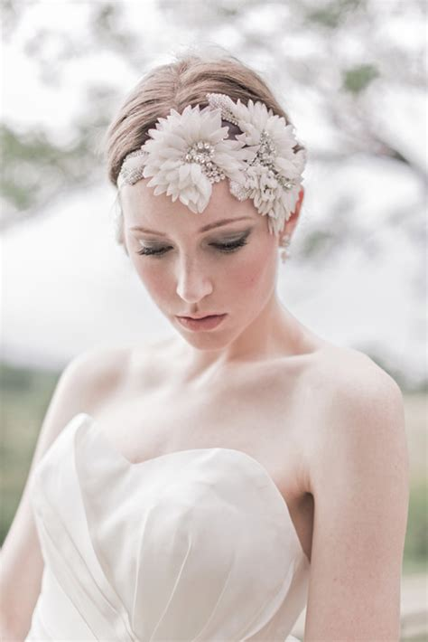 Vintage Bridal Hair 2013 by Enchanted Atelier Bridal Accessories Junebug Weddings