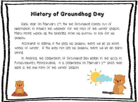 groundhog day meaning origin big apple speech groundhog day activities mega pack 50