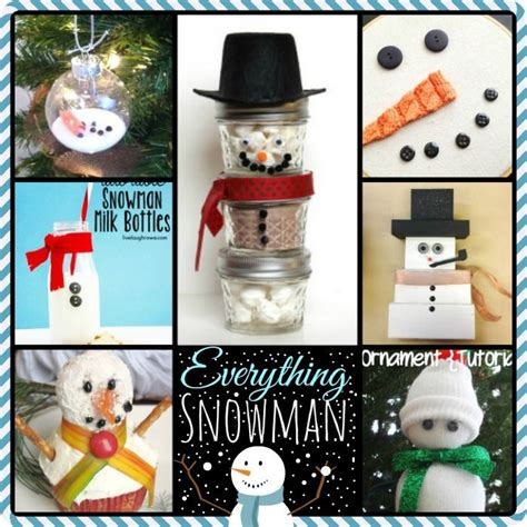 17 best images about snowman crafts on