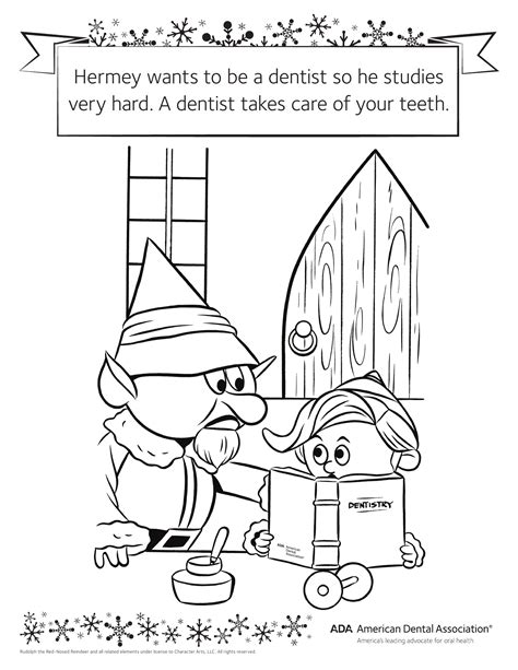 Awesome Dental Hygiene Coloring Page With Dentist Coloring Dental Hygiene Coloring Pages