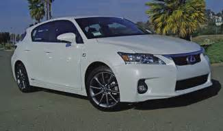 2012 Lexus Ct 200h Review Test Drive 2012 Lexus Ct 200h Premium F Sport Our Auto