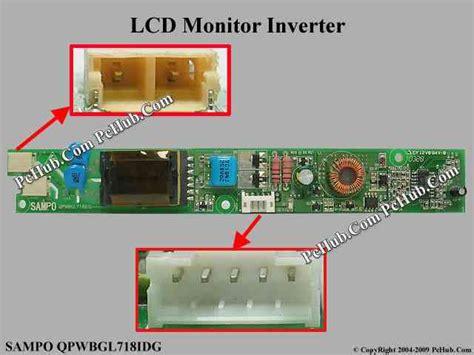 Inverter Monitor Lcd so qpwbgl718idg lcd monitor tv inverter qpwbgl718idg