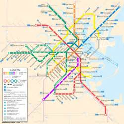 Mbta Boston Map by Mbta T Bing Images