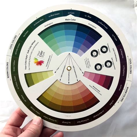 your color soft color wheel color fans your color style color