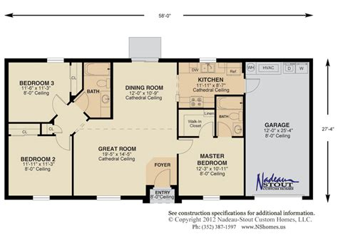 Split Bedroom Floor Plans Split Floor Plan Home Design Parkland Floorplans