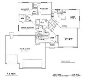 tri level floor plans tri level home plans designs home and landscaping design