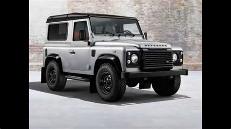 silver range rover black 2014 land rover defender black and silver packs youtube