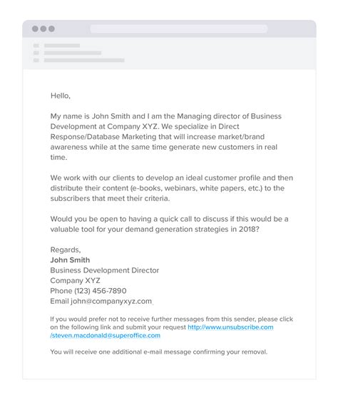 Gdpr For Sales How To Prospect Without Breaking The Law Cold Email Sequence Template