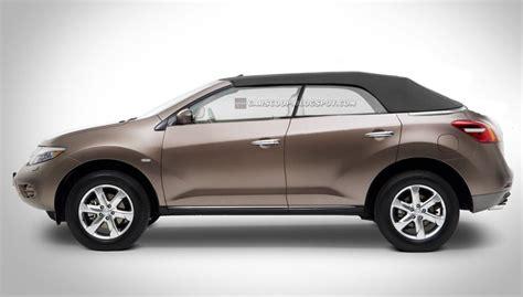 Convertible Nissan Suv by Nissan Preparing Convertible Version Of Murano Suv