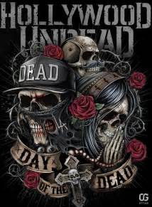hollywood undead day of the dead by bakerrrr on deviantart