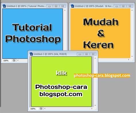 cara mudah membuat banner sederhana dengan photoshop cara membuat banner animasi dengan photoshop tips photoshop
