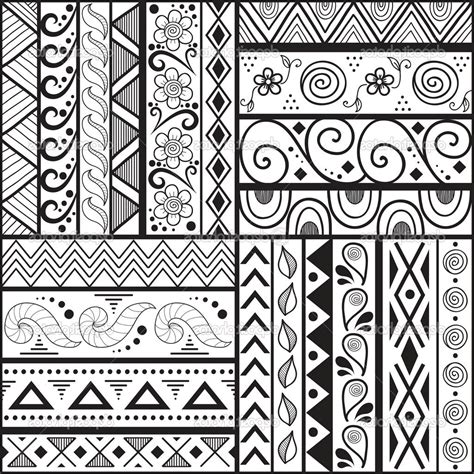 pattern in sketch easy drawing patterns easy patterns to draw design your