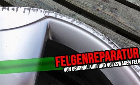 Motorradfelgen Mit Speichen Lackieren by Felgenreparatur Von Original Audi Und Volkswagen Felgen