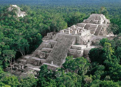 imagenes piramides mayas calakmul m 233 xico pir 225 mides y jaguares