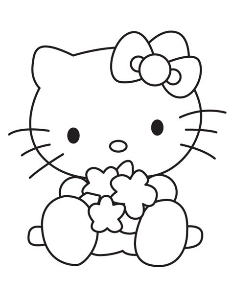 coloring pages hello kitty baby baby hello kitty playing toys coloring page h m