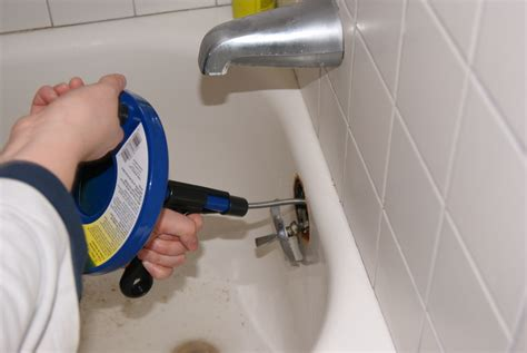 How To Snake A Bathtub Drain by How To Clean A Bathtub Drain With Snake Thecarpets Co