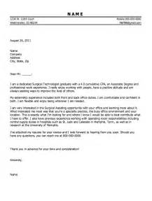 Perioperative Cover Letter by Sle Surgical Tech Cover Letter Resumes Design