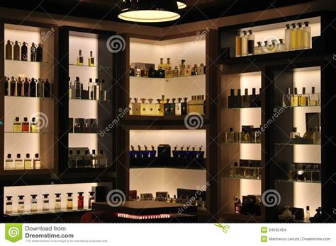 Parfum Shop For perfumes in store editorial stock image image 34535454