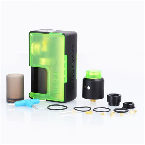 Vandy Finder Authentic Vandy Vape Pulse Bf Green Squonk Mod Pulse 24