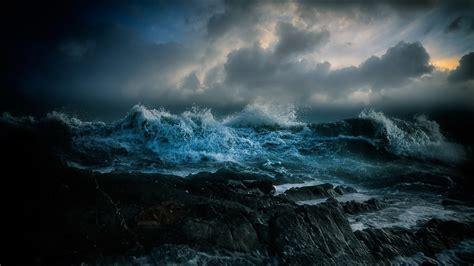 stormy ocean wallpaper wallpapertag