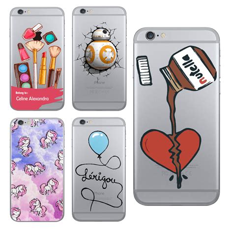Soft Owl Iphone 5s for iphone 5 5s se 6 6s chocolate nutella cosmetic unicorn owl clear skin soft tpu cases