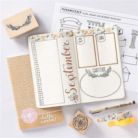 Paper Course - creative journaling workshop at paper source journaling