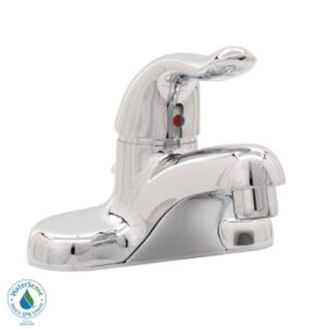 American Standard Cadet Shower Faucet by American Standard Cadet 4 In Centerset 1 Handle Low Arc
