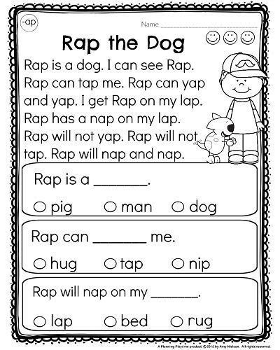 Kindergarten Reading Comprehension Worksheets by Best 25 Kindergarten Reading Ideas On