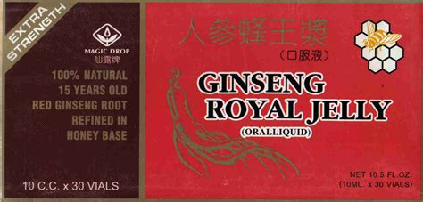 Royal Ginseng magic drops ginseng