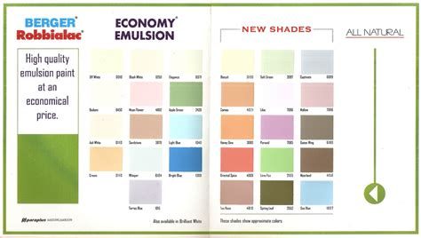 berger paints colour shades berger paint color codes paint color ideas