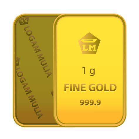 2 Gr Gram Gold Bar Logam Mulia Lm Emas Batangan Antam Sertifikat logam mulia 1 gram daftar update harga terbaru indonesia