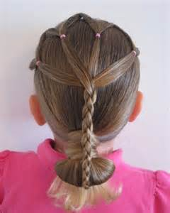 Easy kids hairstyles for girls on cool kids ids hairstyles for girls