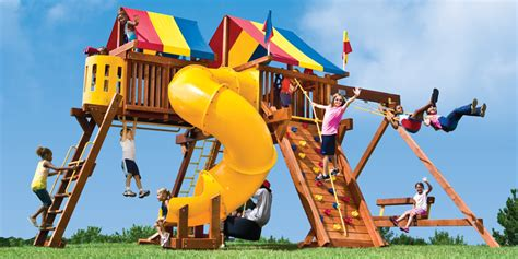 swing kong small yard play structures swing sets playground