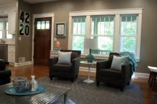 Living Room To Kitchen Door Home Tours Craftman Bungalow Its Overflowing Simply