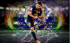 2015 Barcelona Lionel Messi Backgrounds