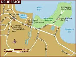 map of beaches map of airlie