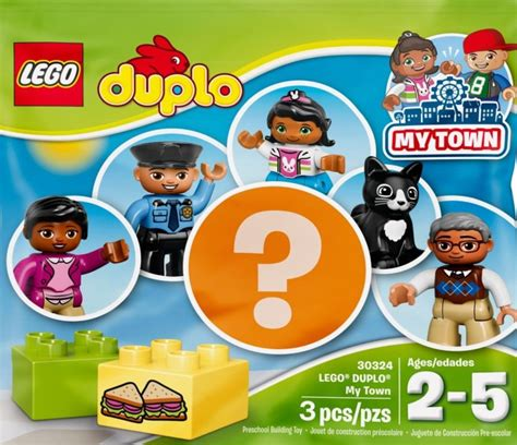 Lego 30324 Duplo Polybag My Town 2017 tagged polybag brickset lego set guide and