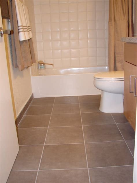 Ceramic Tile Bathroom 15 Quot X 15 Quot Italian Porcelain Tiles Bathroom Floor And 6 Quot X 6 Quot Ceramic Tiles Yelp