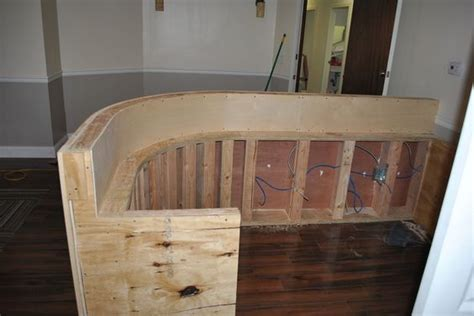 Diy Reception Desk Great Step By Step Pictures Plans Reception Desk Plan