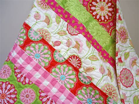 baby quilt crib bedding bandana by nowandthenquilts