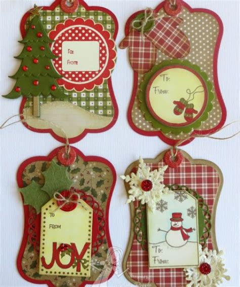 Handmade Catalog - 5 gift tag ideas