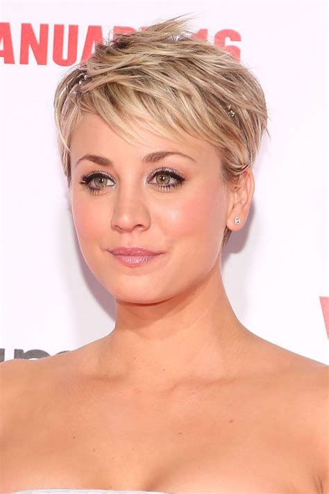 penny big bang theory hair messy bun how kaley cuoco bypassed the awkward stages in growing out