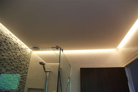 led in bathroom ceiling it used as light